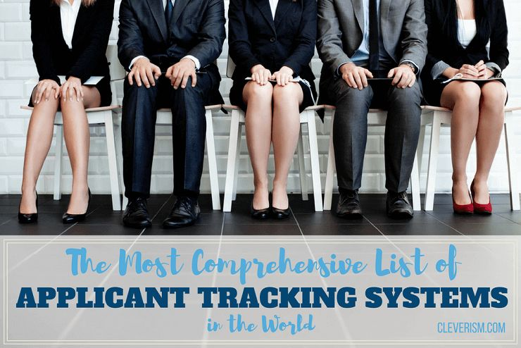 List Of 60 Leading Applicant Tracking Systems (ATS)
