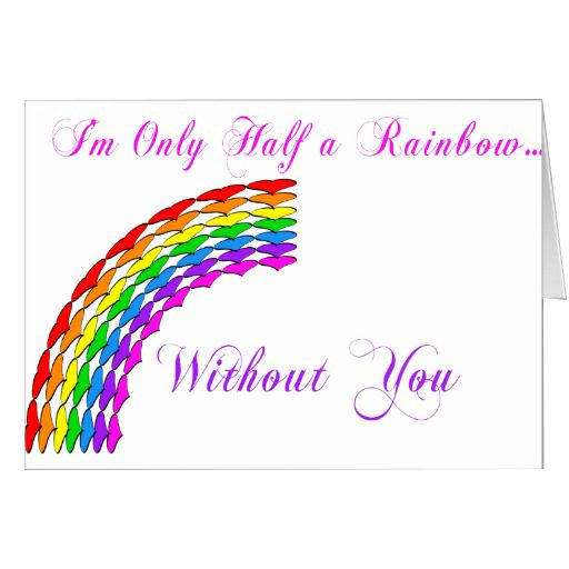Rainbow Greetings | Printable Greeting Cards