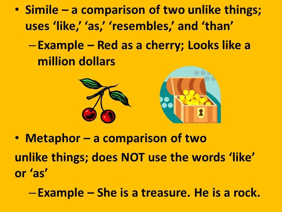 Example – Red as a cherry; Looks like a million dollars - ppt download