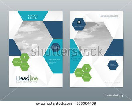 Vector Brochure Flyer Template Layout A4 Stock Vector 571854478 ...