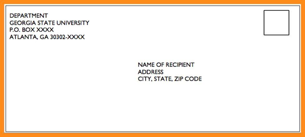 5+ mailing address format | resume setups