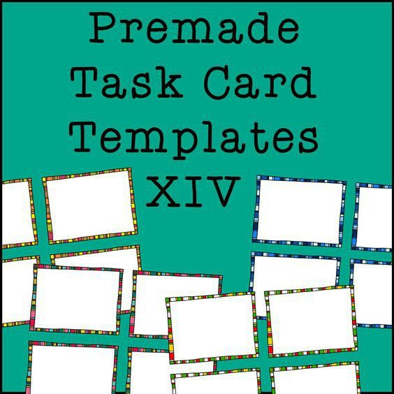 Task cards, Templates and Frames on Pinterest