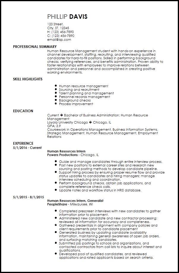 Free Creative Internship Resume Templates | ResumeNow