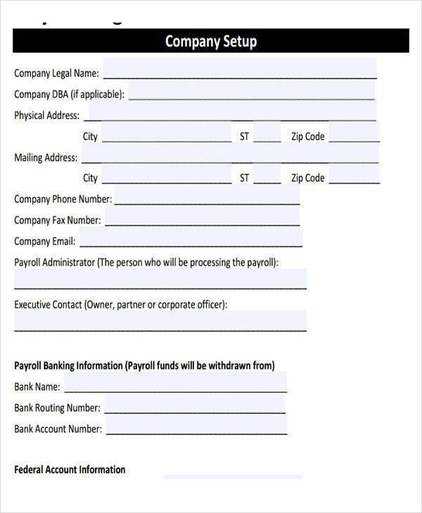 Employee Payroll Templates | Free & Premium Templates