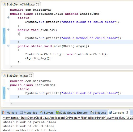 Java static constructor - Is it really Possible to have them in Java?