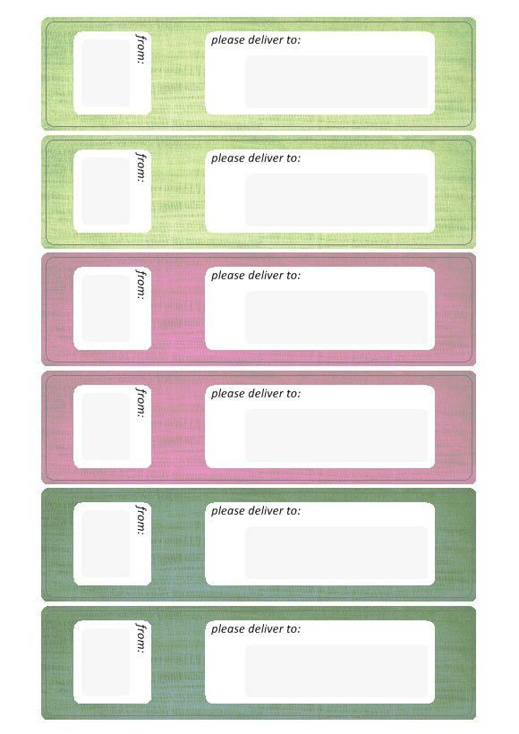 Address Label Template | Downalod Free Label Templates