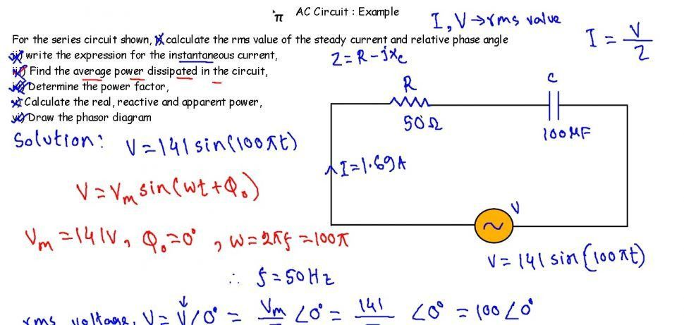 Symbols : Breathtaking Circuit Example Series Background Ac ...