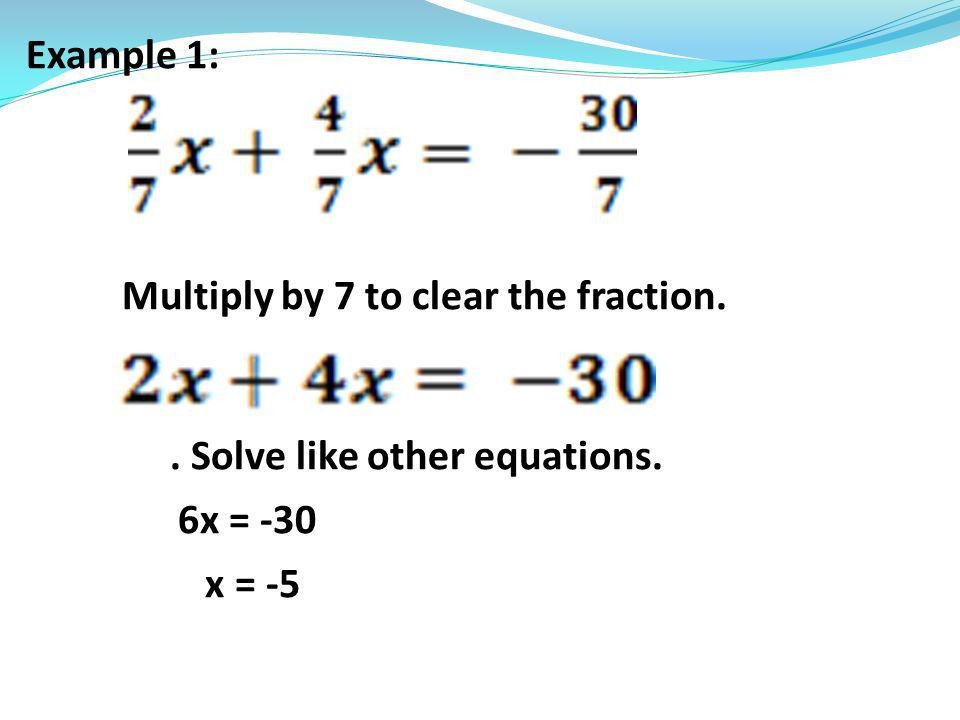 Math IA Warm Up: 1.Solve. How did you clear the fraction? x = 9x ...