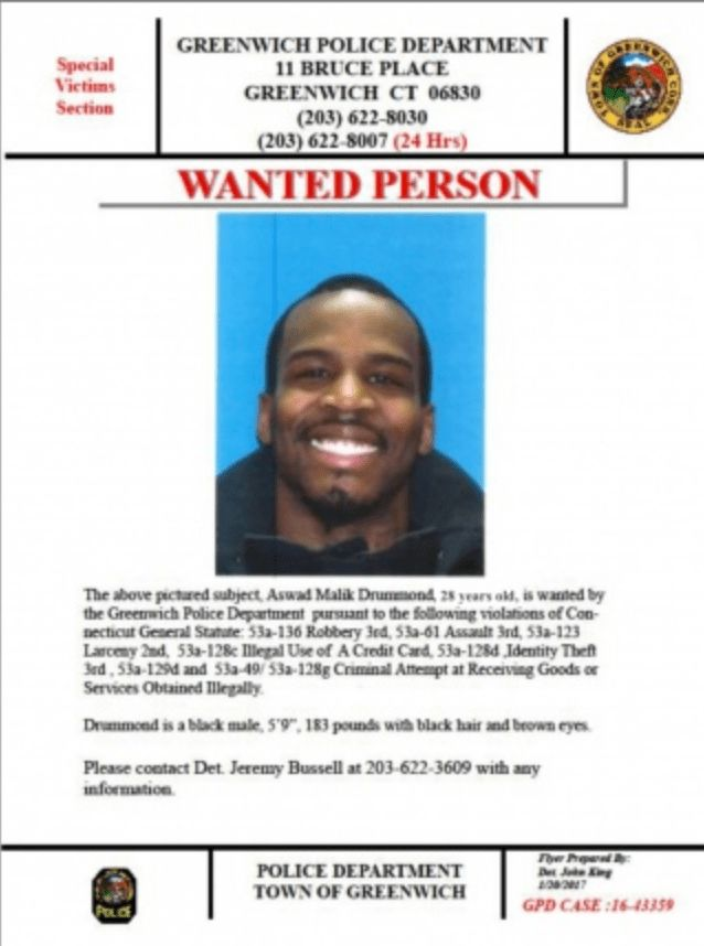 Strong-Arm Robbery Suspect Nabbed by Greenwich Police | Greenwich ...