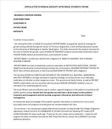 appeal letter 8 free sample example format free premium - Sample Letter Of Appeal For Reconsideration