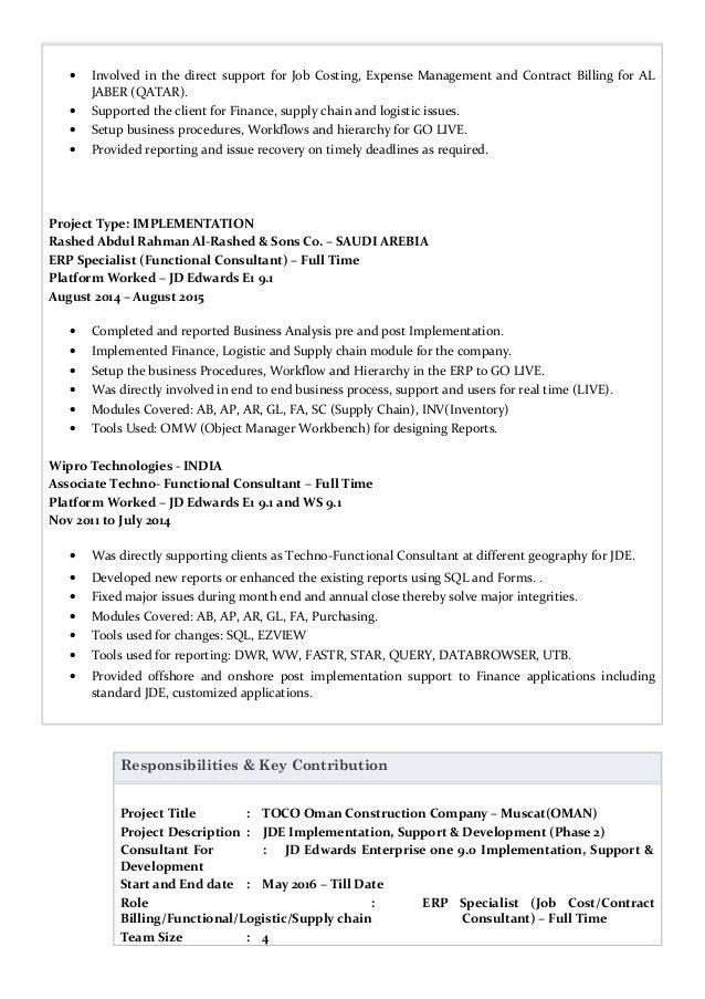 Geetam ERP Resume