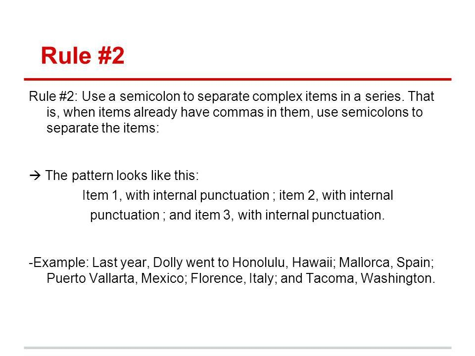 ACT Minilessons: Semicolons & Colons - ppt download