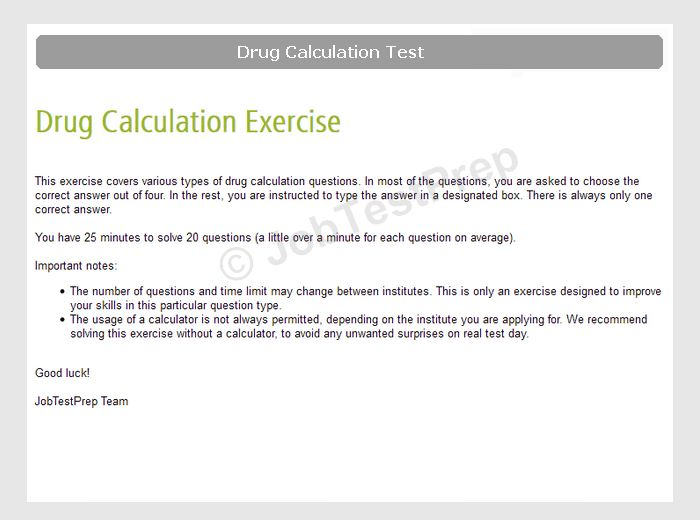 NHS Healthcare Assistant Numeracy & Literacy Test Preparation ...