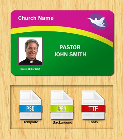 Church ID Templates - Free Download