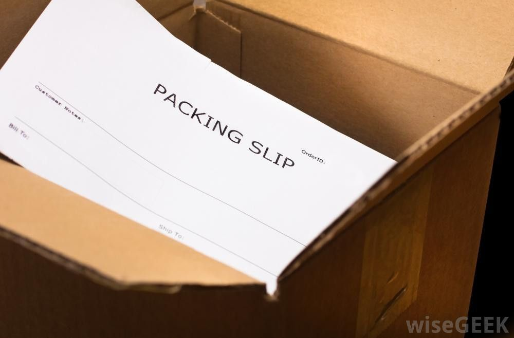 What is a Packing Slip? (with pictures)