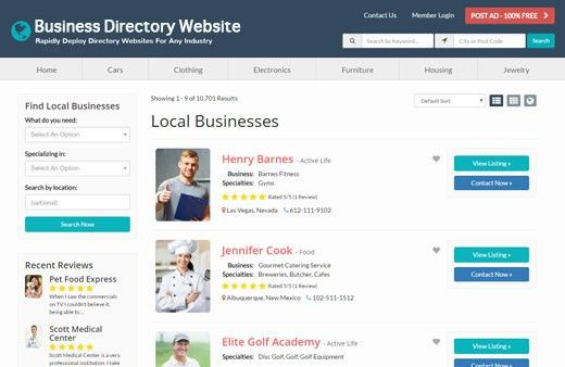 Brilliant Directories Free Demo - Website Directory Software ...