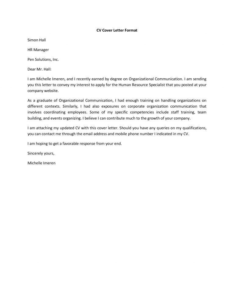 how should a cover letter look download what should be in cover