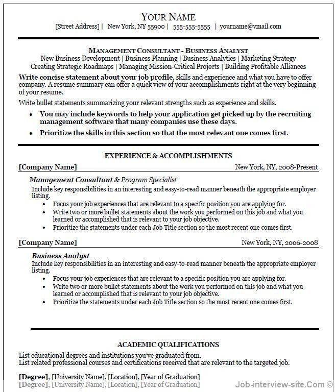 Job Resume Template Word. Teacher Job Resume Template Buy Original ...