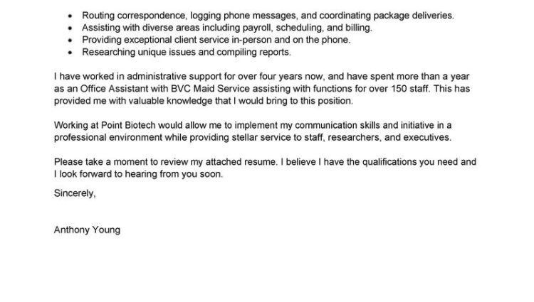 sample cover letter graduate cover letter example | RecentResumes.com