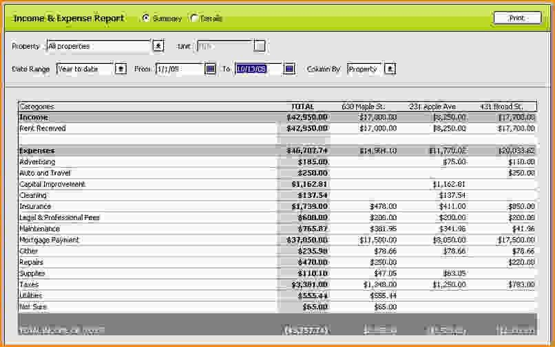 Basic Expense Report Template. itinerary report template. sample ...