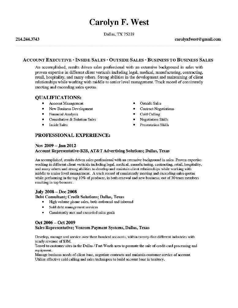 Resume Example: 74 Account Executive Resume Sample Insurance ...