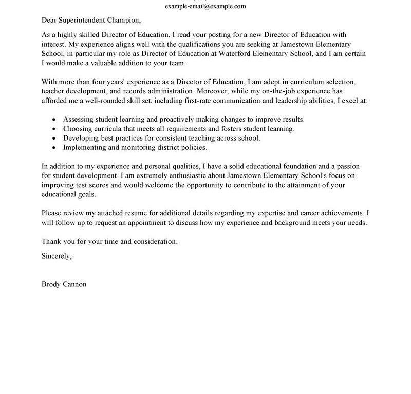 first time teacher cover letters