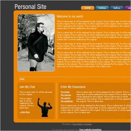Personal free website templates for free download about (179) free ...