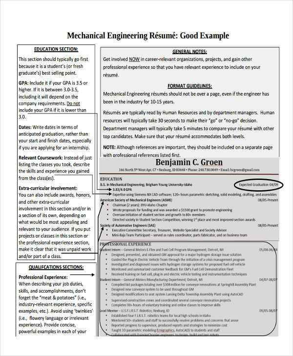 Graduate Fresher Resume Templates- 6+ Free Word, PDF Format ...