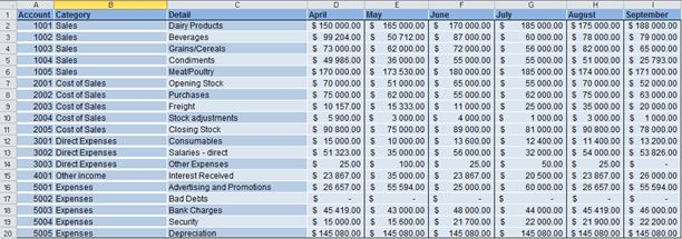 Income and Expenditure Statement report template | Sage Intelligence