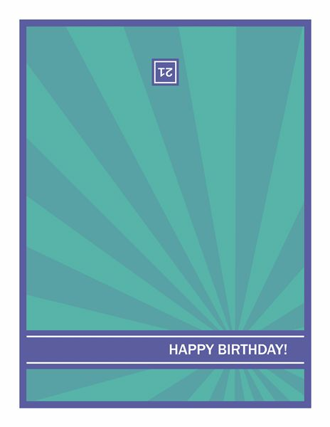 Birthday party invitation postcards with photos (2 per page ...
