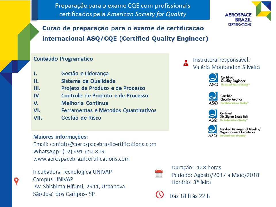 Aerospace Brazil Certifications | LinkedIn