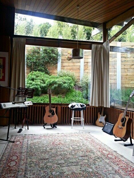 Modern The barlike home music room studio design Music Pinterest