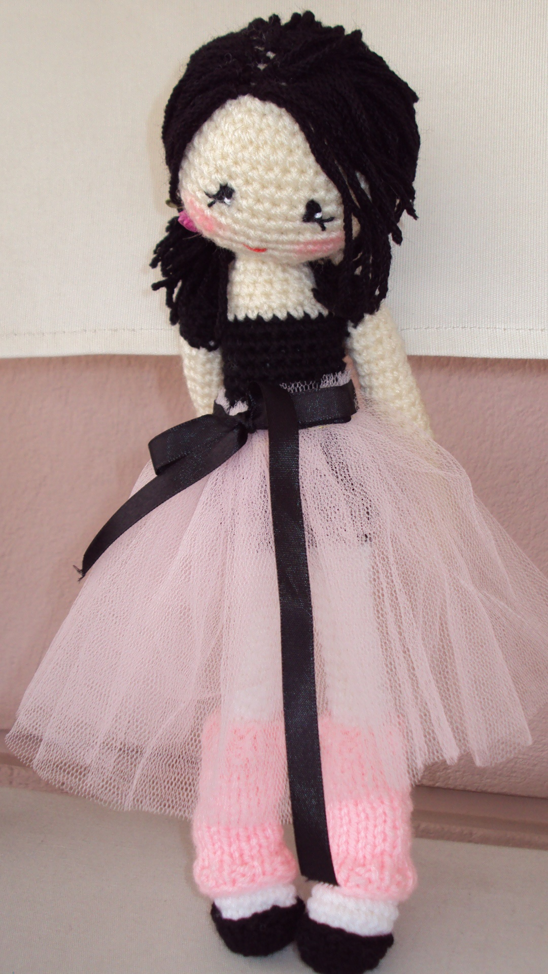 Amigurumi Lily Doll : Crochet Dolls; African American dolls with afro puffs and ...