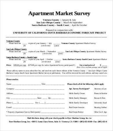 Market Survey Template - 7+ Free Word, PDF Documents Download ...
