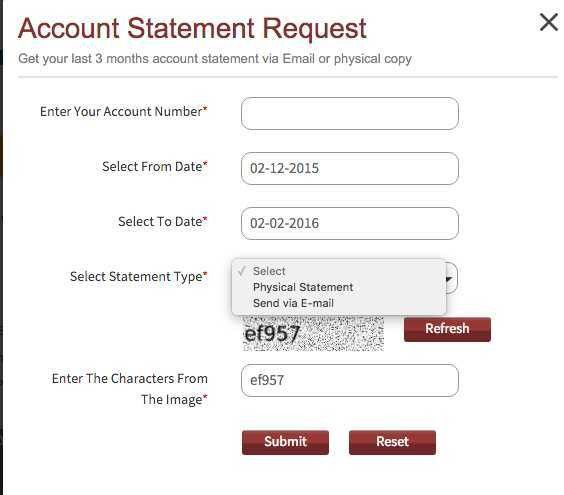 Instant Request For IndusInd Bank Account Statement - Email ...