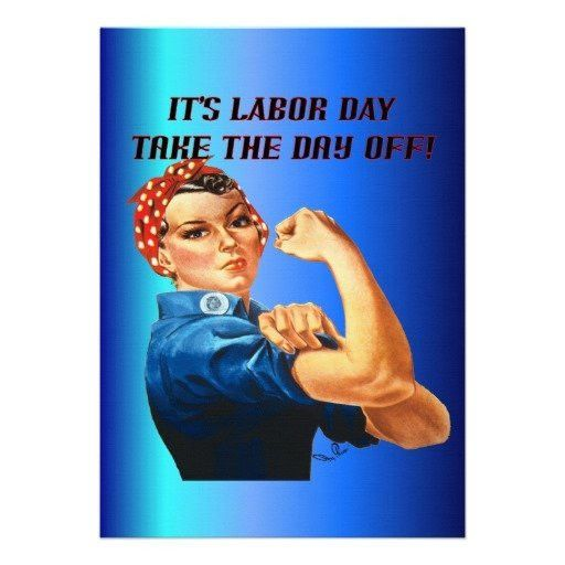 Take the Day Off Labor Day Invitation | Labor Day BBQ Party ...