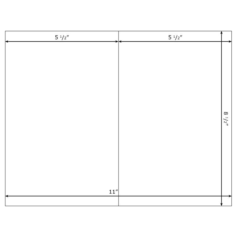 "Burris Blank Greeting Card 5x7"" Template for (Portrait) Microsoft ..."