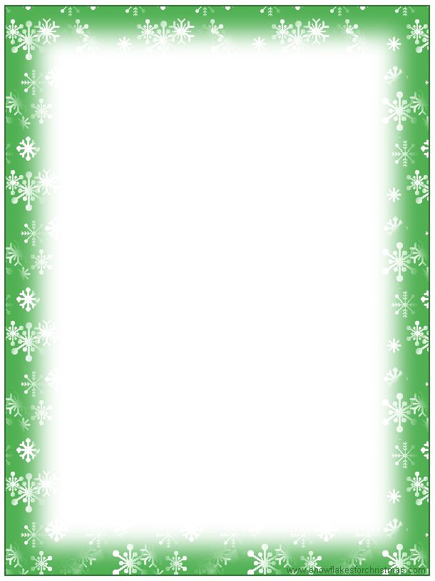 Free Christmas Stationary Templates | FREE Printable Christmas ...