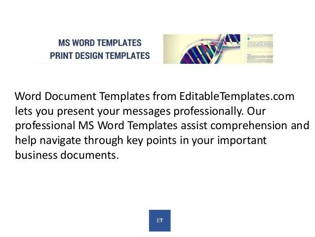 Editabletemplates.com - Word Document Templates