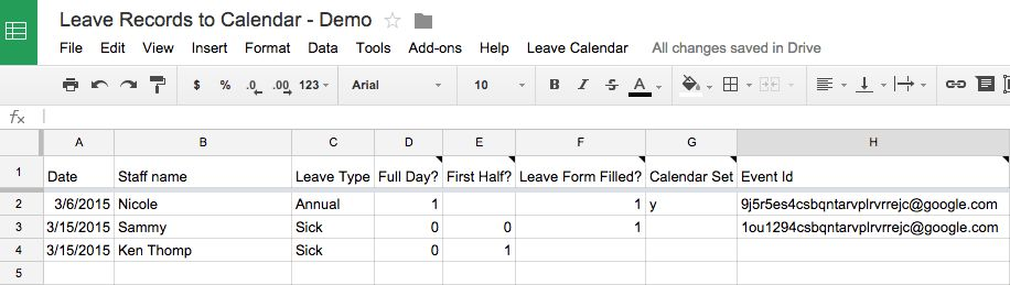 Push your organisation leave information to Google Calendar for ...