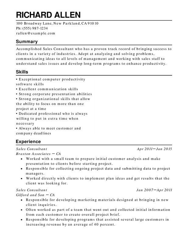 Download Resume Retail | haadyaooverbayresort.com