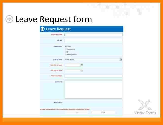 Sample Leave Request Form. 6+ Simple Leave Request Form | Resume ...