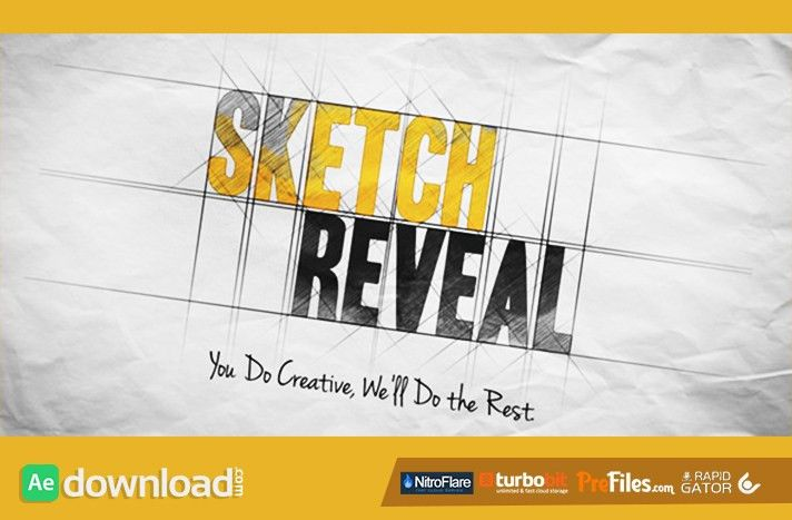 SKETCH REVEAL (VIDEOHIVE) - FREE DOWNLOAD - Free After Effects ...