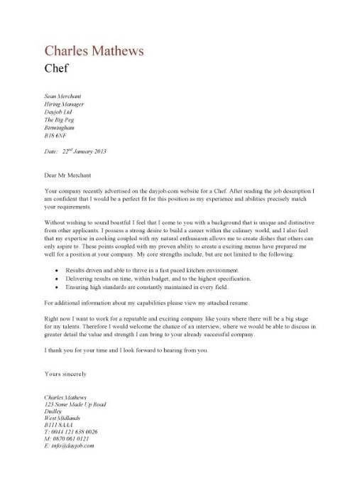 Example Of Cover Letters For Resume. 16 Best Sample Resumes, Cover ...