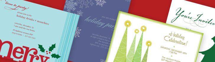 Christmas Invitations, Christmas Invitation Templates, Christmas ...