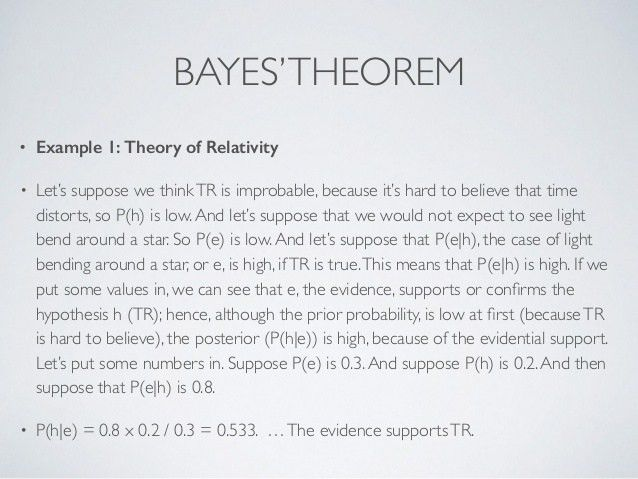 Part 2: Philosophy of Science: Induction and Bayes' Theorem