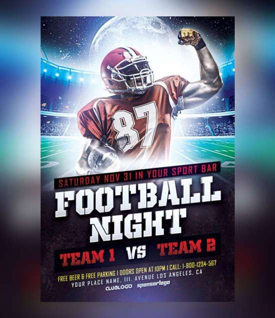 Download 25+ Free Sports Flyers Templates | Ginva