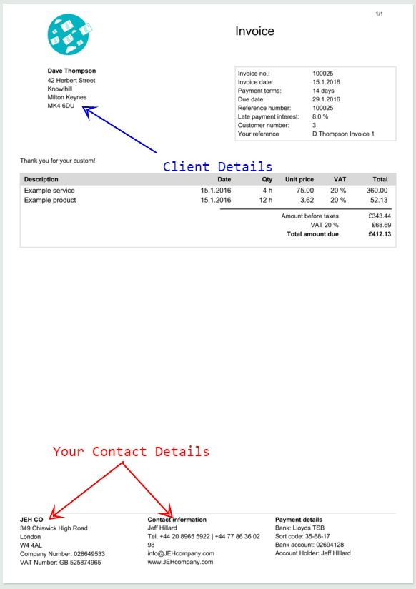 How to Create An Invoice Template - Free Tutorial