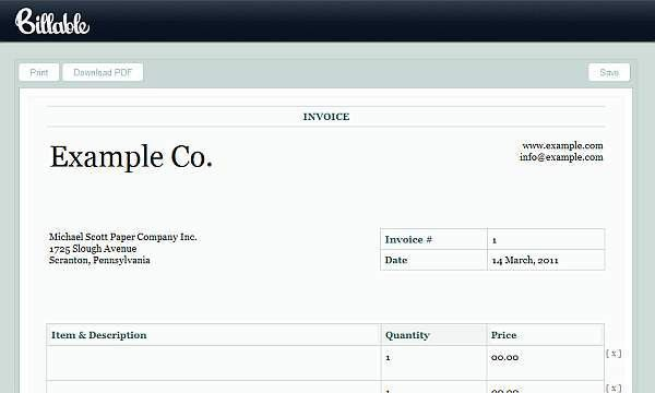 make a invoice online 100 free invoice pdf templates print email