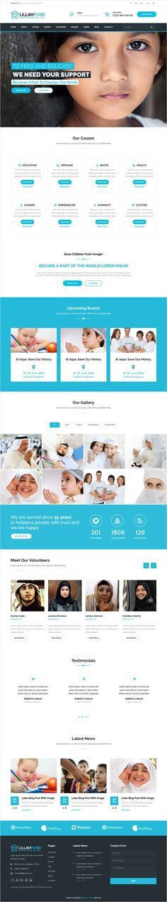 CharityPlus, clean, modern, user friendly and responsive Bootstrap ...